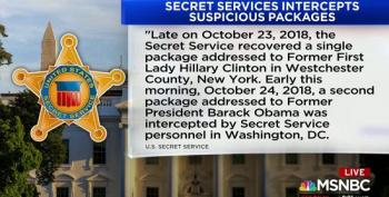 Bombs, Suspicious Packages Intercepted By Secret Service Headed To Clinton, Obama