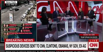 David Gregory Rages At Huckabee Sanders For Ignoring CNN Bomb