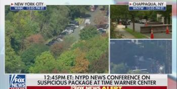 Fox News Reporter Advises Some Of Wednesday's Bomb Reports Could Be A 'False Flag'
