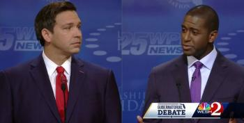 Gillum: I'm Not Calling DeSantis A Racist, 'I'm Simply Saying The Racists Believe He's A Racist'