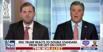 Hannity And Eric Trump Attack Democrats On The Same Day Someone Tried To Assassinate Them