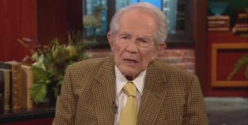 Pat Robertson Angrier At Maxine Waters And Soros Than Pipe Bomber