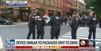 Fox And Friends Airs Former NY Cop With 'False Flag' Theory On Bombs Sent To Democrats