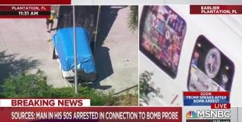 Alleged MAGAbomber's Van Plastered With Violent Right Wing Social Media Memes