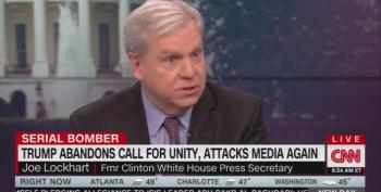 Joe Lockhart On Trump's Crazy Tweets: He Was Elected President, 'Not A Mental Patient'