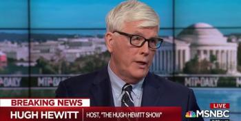 Hugh Hewitt: Trump Encouraging Violence At Rallies 'Equivalent' To Mitch McConnell Hecklers