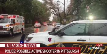BREAKING: Active Shooter At Pittsburgh Tree Of Life Synagogue. Fatalities Reported