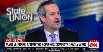 NY Times' Jonathan Weisman: Anti-Semites Believe Trump Is On Their Side
