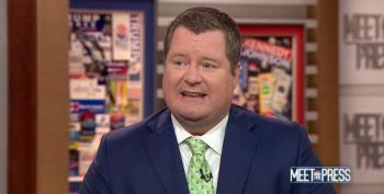 Of All Weeks, Why Did Meet The Press Book Conspiracist Erick Erickson Today?