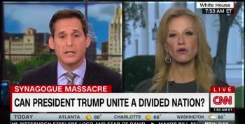 Kellyanne Conway Immediately Attacks The Left When Asked If Trump Should Try To Unify The Country