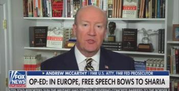 Fox News Warns Viewers Sharia Law Is Coming For Hate Speech