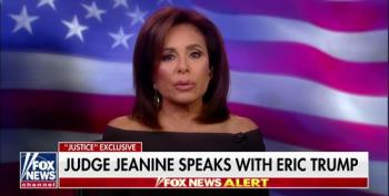 Jeanine Pirro And Eric Trump Make Excuses For Trump's Campaign Rallies