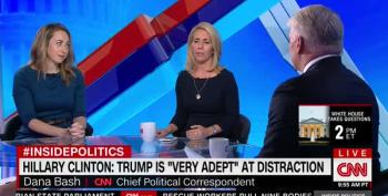 Dana Bash Is Offended When Hillary Says Trumps Should Be Locked Up