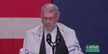 'Messianic Rabbi' At Pence Rally Prays For Republican Candidates To Take Power