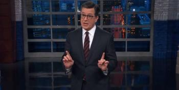 Colbert Weighs In On Synagogue Shooting: 'Hate Is Not What America Stands For'