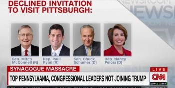 Congressional Leaders Decline White House Invitation To Visit Pittsburgh