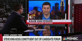 Kaleb Van Fosson, Slayer Of Steve King, Appears On MSNBC