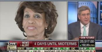 'Fox' Continues Outrageous Smears Of Maxine Waters 4 Days Before Midterms
