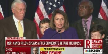 Nancy Pelosi Celebrates Taking Back The House