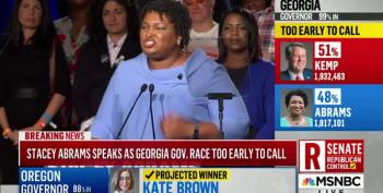 Stacey Abrams: 'We Are Still On The Verge Of History'