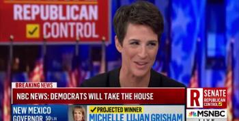 Rachel Maddow: A Democratic House Is Very Bad News For Trump