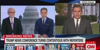 Jim Acosta Shrugs At Trump's Tantrum: 'When They Go Low We Keep Doing Our Jobs'