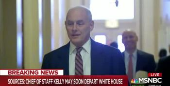 NBC Reports John Kelly Is Being Ousted Because Of Melania