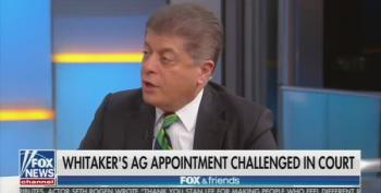 Judge Napolitano: Chaotic Hiring Of Whitaker Reminiscent To Nixon's Saturday Night Massacre