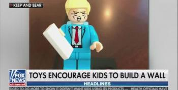 Conservative Toy Company Wants Kids To 'Build A Wall' With MAGA Building Blocks
