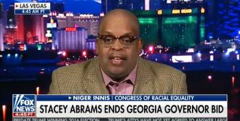 Niger Innis Claims There's No More Voter Suppression Because People's Lives Aren't Being Threatened