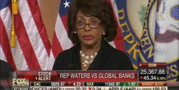 Fox Business Continually Assaults Maxine Waters For Taking On Intl Financial Institutions