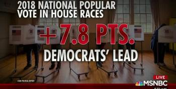 Blue Wave Keeps On Turning, Proud Dems Keep On Burning
