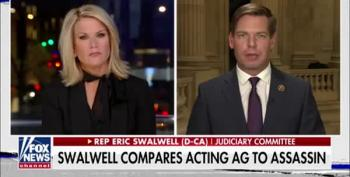 Eric Swalwell Out-Gotcha's Fox's Martha MacCallum