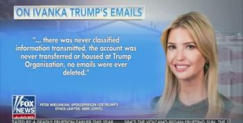 'Fox And Friends' Buries The Story Of Ivanka Trump Using Private Emails For Govt Business