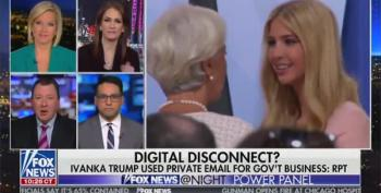 Panelist Smacks Fox Host's Defense Of Ivanka Trump: 'Unforgivable!'