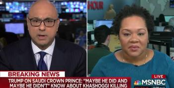 Ali Velshi Slams Trump's 'Weird' Khashoggi Statement