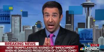 Ari Melber Blasts Trump's Attempt To Order Investigation Into Clinton And Comey