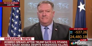 Sec. Pompeo Shrugs Off Khashoggi Murder: 'It's A Mean, Nasty World Out There'