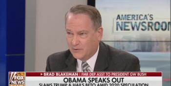 Pro-Trump Panelist Goes Way Overboard Against Obama.  Even Fox Noticed!