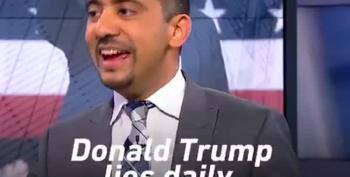 Mehdi Hasan Sets Trump Proxy Straight