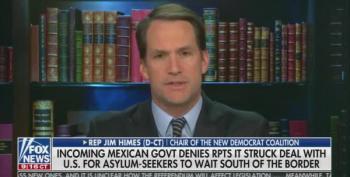 Rep. Jim Himes Tells Fox Host She's Lying