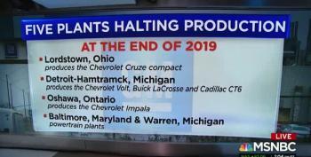 GM Announces Massive Layoffs, Plant Closures
