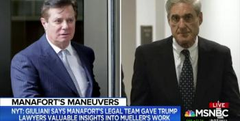 Trump's Joint Defense Agreement With Manafort May Be Null And Void