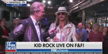 Kid Rock Preaches 'Love Everybody' - 'Except For That Joy Behar B*tch'