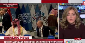 MSNBC Captures Putin And MBS In A Warm Embrace