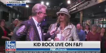 Kid Rock Wishes We Could All Get Along - Except For That Bitch, Joy Behar