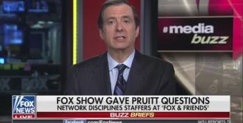 Howard Kurtz Blasts 'Fox And Friends' Scripted Interviews With Scott Pruitt