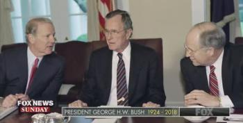 Chris Wallace: George HW Bush Was 'Greatest Living American'