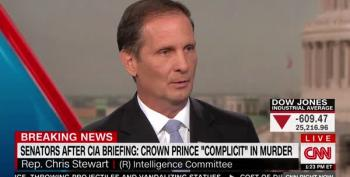 Rep. Chris Stewart Shrugs Off Khashoggi Murder: 'Journalists Disappear All Over The Country'