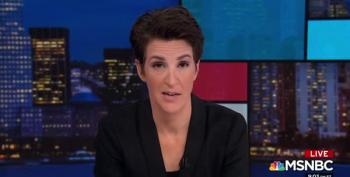 Rachel Maddow Nails Another Example Of Republican Projection: Corruption In North Carolina